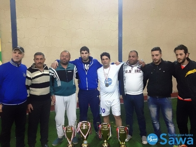 فوز فريق سوا في المركز الثاني ضمن نهائي دوري بعلبك لكرة القدم الميني فوتبول
